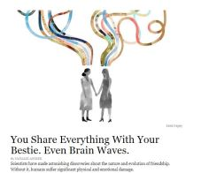 Friendships and Brain Waves