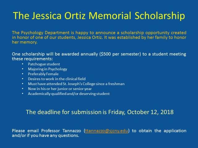 Scholarship Announcement (2)