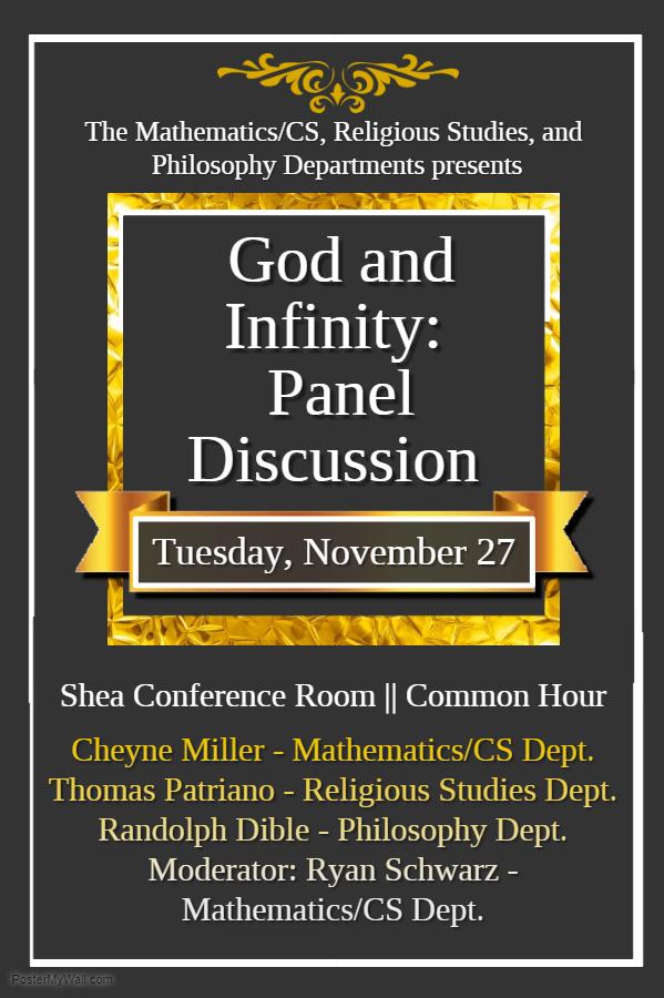 God and Infinity Panel